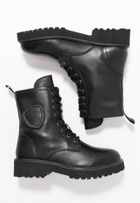 Blauer - IRVINE - Lace-up ankle boots - black - 3