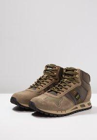 Blauer - Sneakers hoog - military green - 2