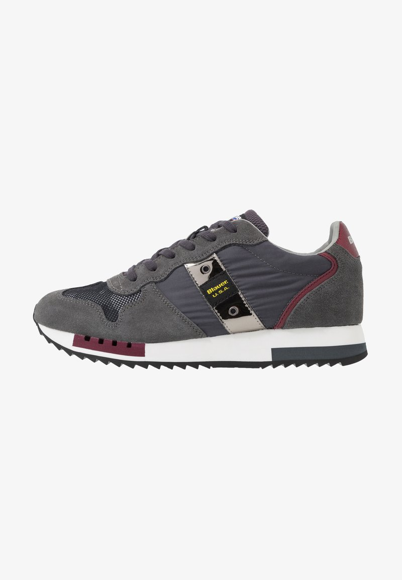 Blauer - QUEENS - Sneakers laag - grey