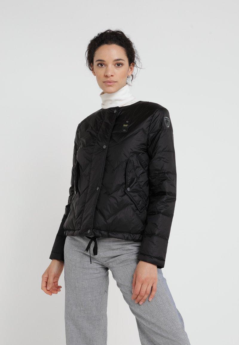 Blauer - GIUNNINI CORTI IMBOTTITO - Down jacket - black