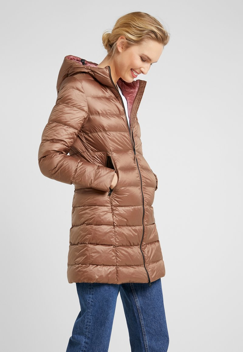 Blauer - IMPERMEABILE LUNGHI  - Down coat - taupe