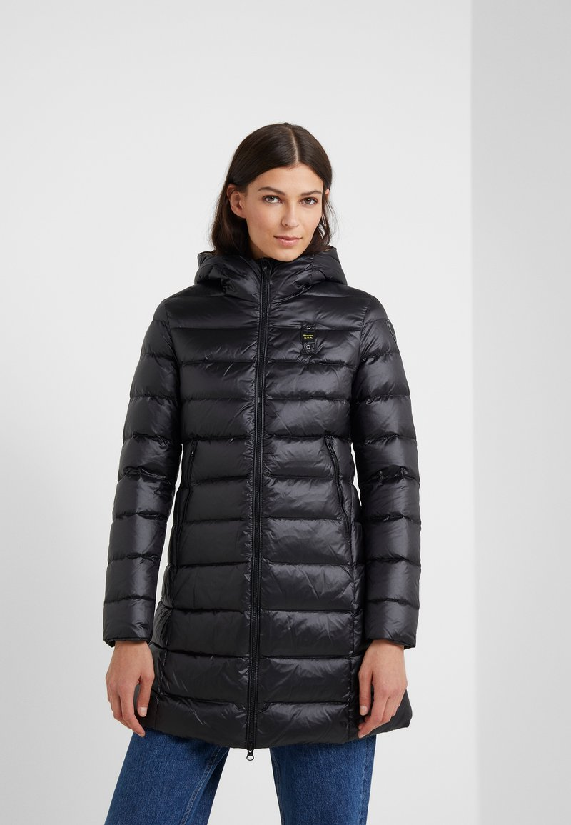 Blauer - IMPERMEABILE LUNGHI  - Down coat - black