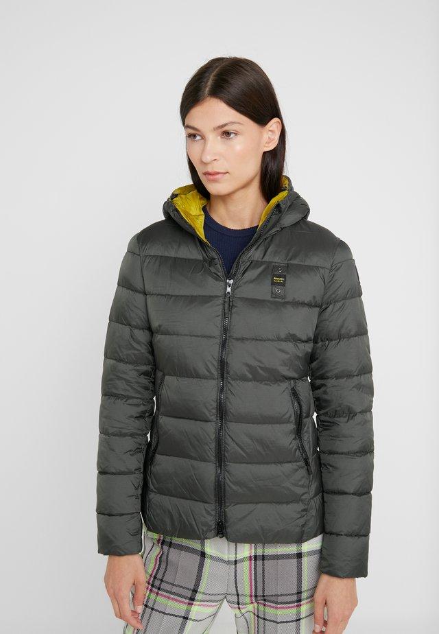 GIUBBINI CORTI IMBOTTITO  - Winter jacket - dark green