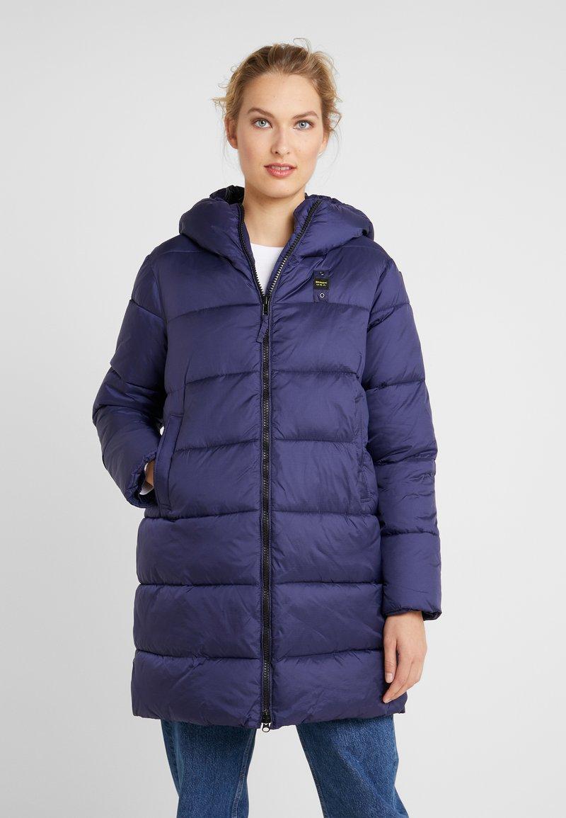 Blauer - IMPERMEABILE LUNGHI IMBOTTITO OVATTA - Veste d'hiver - navy