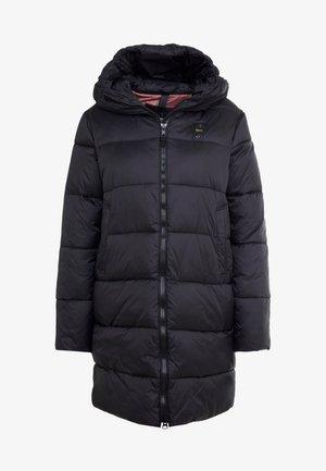 IMPERMEABILE LUNGHI IMBOTTITO OVATTA - Abrigo de invierno - black