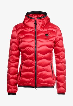 GIUBBINI CORTI IMBOTTITO  - Down jacket - red
