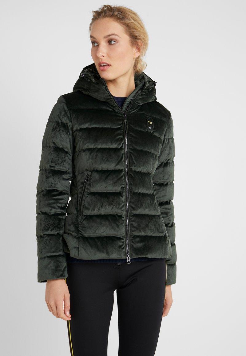 Blauer - GIUBBINI CORTI IMBOTTITO PIUMA - Down jacket - dark green