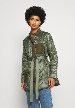 PADDED BLOUSON - Lehká bunda - green