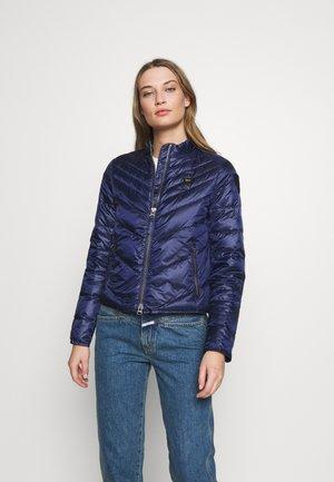 GIUBBINI CORTI IMBOTTITO PIUMA - Down jacket - blu zaffiro