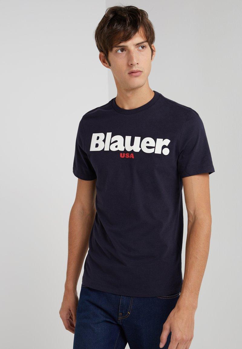 Blauer - T-shirt print - dark blue