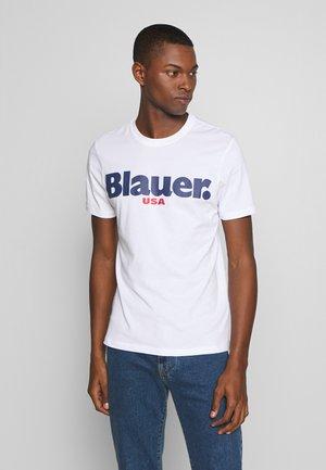 MANICA CORTA - T-shirts med print - bianco ottico