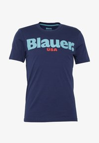 Blauer - MANICA CORTA - T-shirts print - blu zaffiro - 3