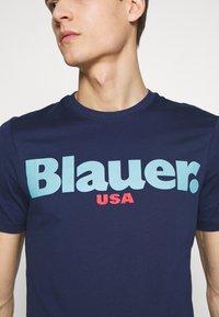 Blauer - MANICA CORTA - T-shirts print - blu zaffiro - 4