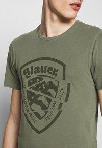 Blauer - MANICA CORTA - T-shirts print - verde olivastro - 4