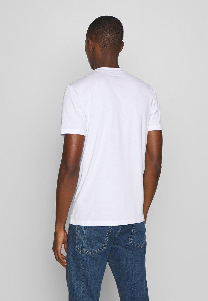 Blauer MANICA CORTA - T-shirts med print - bianco