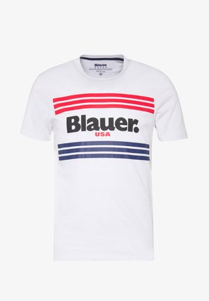 MANICA CORTA - T-shirt imprimé - bianco