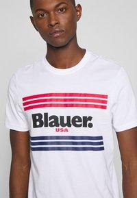 Blauer - MANICA CORTA - T-shirt med print - bianco - 5