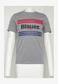 Blauer - MANICA CORTA - T-shirt med print - grigio piccione - 3