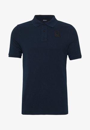 MANICA CORTA APERTURA - Polo shirt - blu cadetto