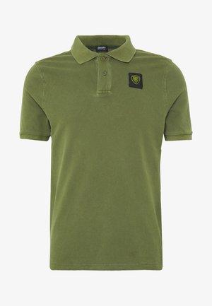 MANICA CORTA APERTURA - Poloshirt - verde olivastro