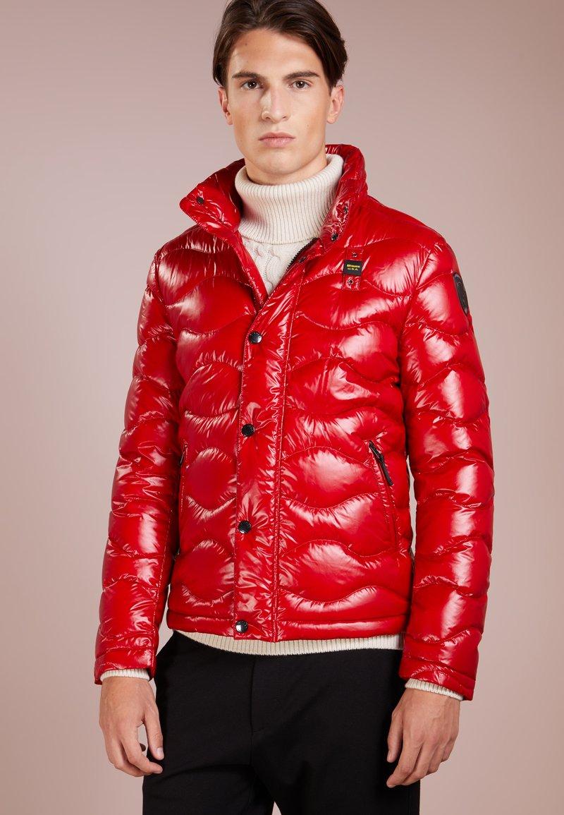 Blauer - GIUBBINI CORTI IMBOTTITO PIUMA - Gewatteerde jas - bloody red