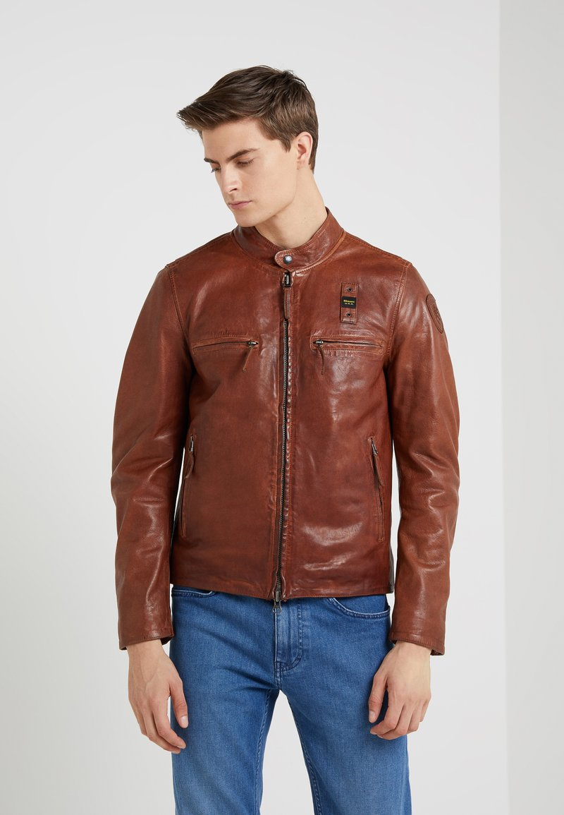 Blauer - Lederjacke - brown