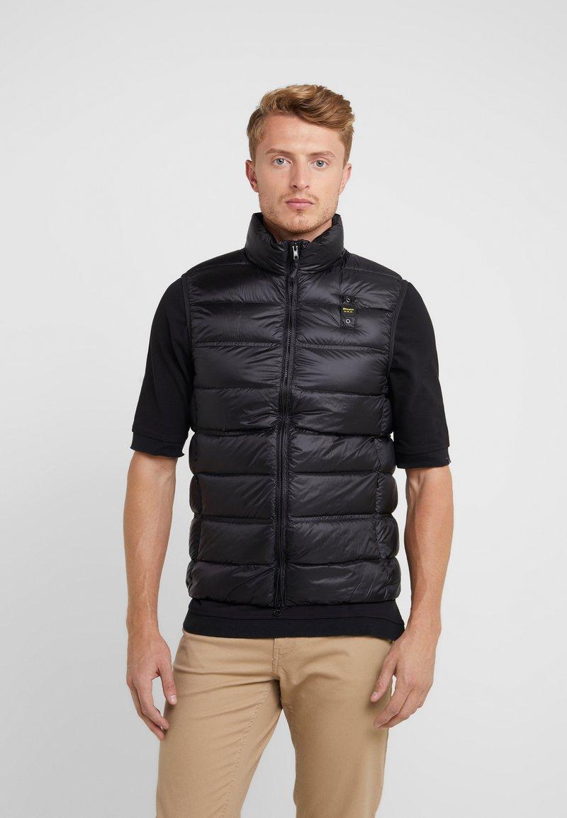 Blauer - Waistcoat - black