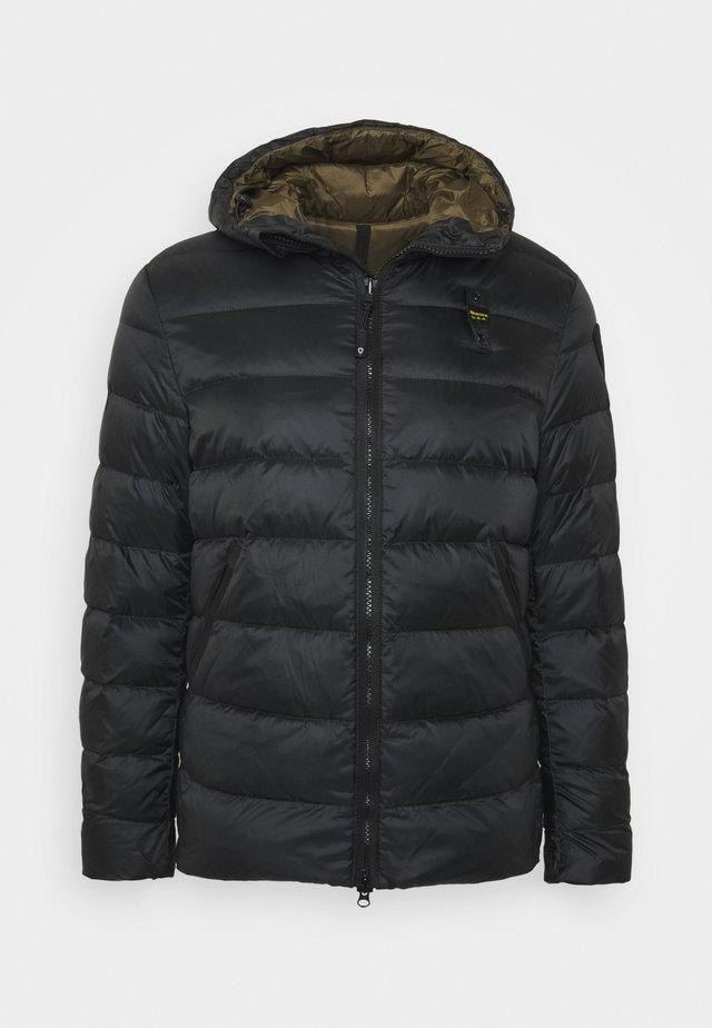 GIUBBINI CORTI IMBOTTITO - Gewatteerde jas - black/dark olive