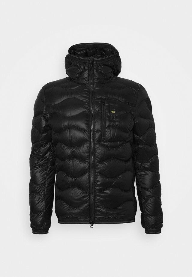 GIUBBINI CORTI IMBOTTITO - Gewatteerde jas - black