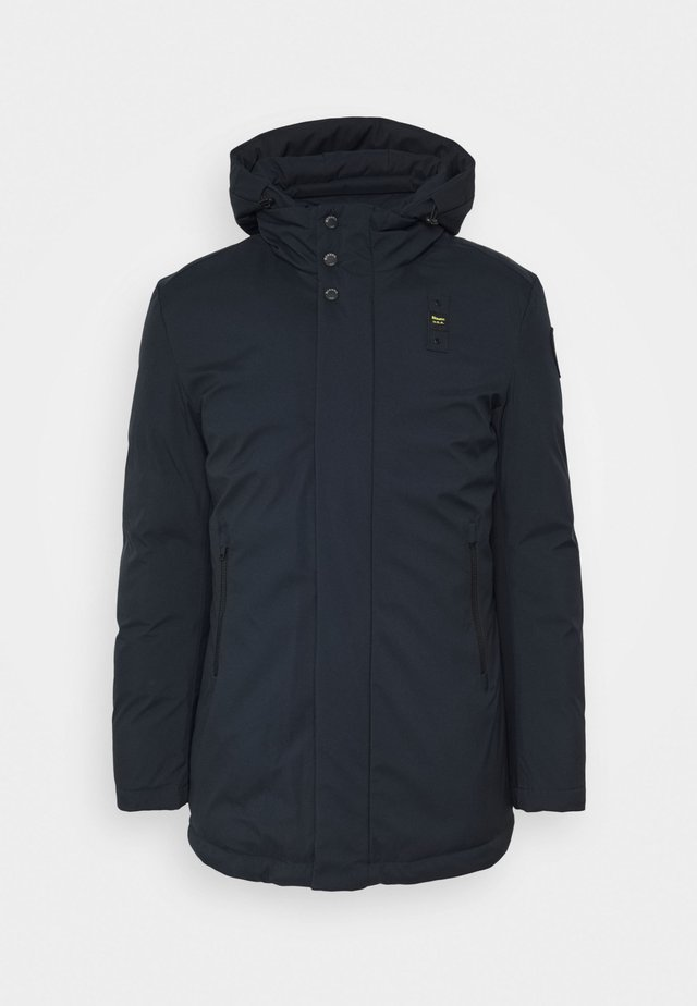TRENCH LUNGHI - Donsjas - dark navy