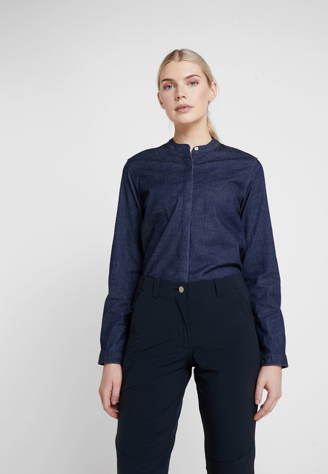 OSLO - Camicia - dark denim
