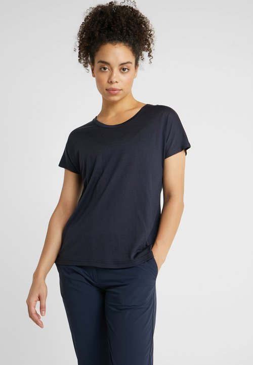 ZMNIEJSZONE O 50% Bergans OSLO TEE - T-shirt basic - navy Koszulki i Topy PAGF-LW1