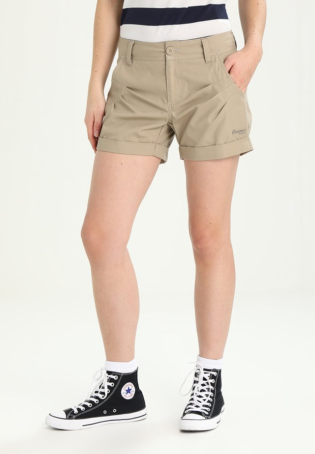 MIANNA LADY SHORTS - Outdoor shorts - beige