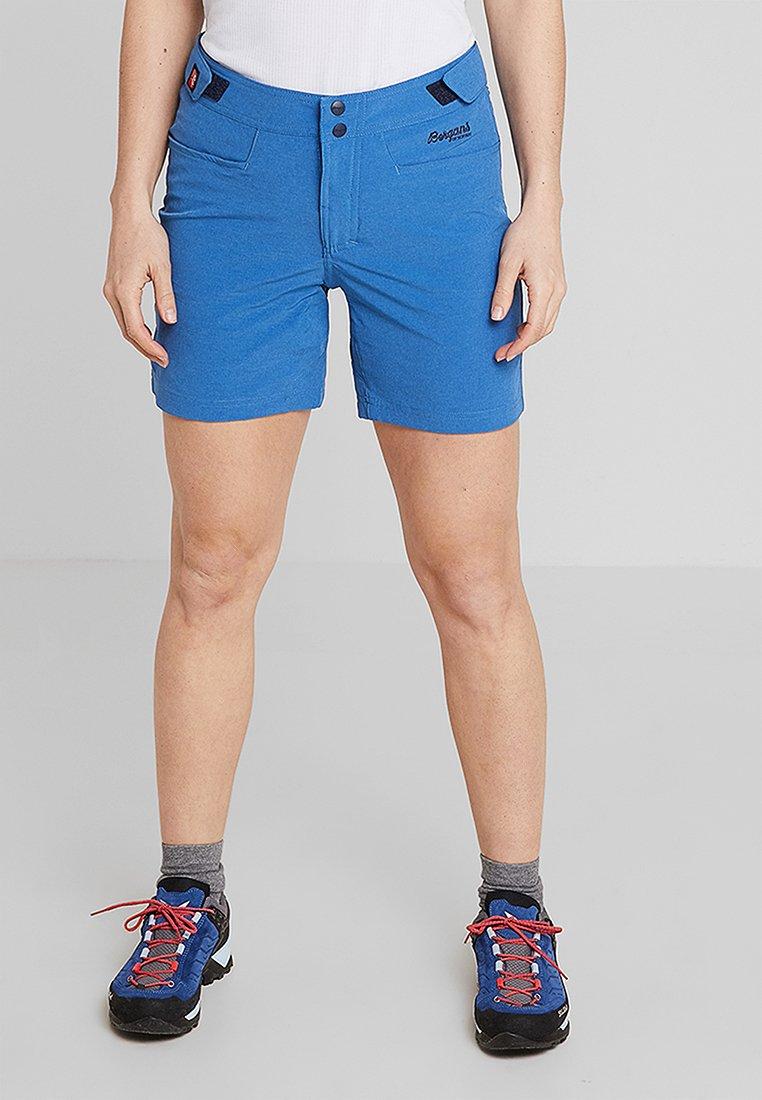 Bergans - CECILIE CLIMBING SHORTS - Sports shorts - cloudblue melange/navy