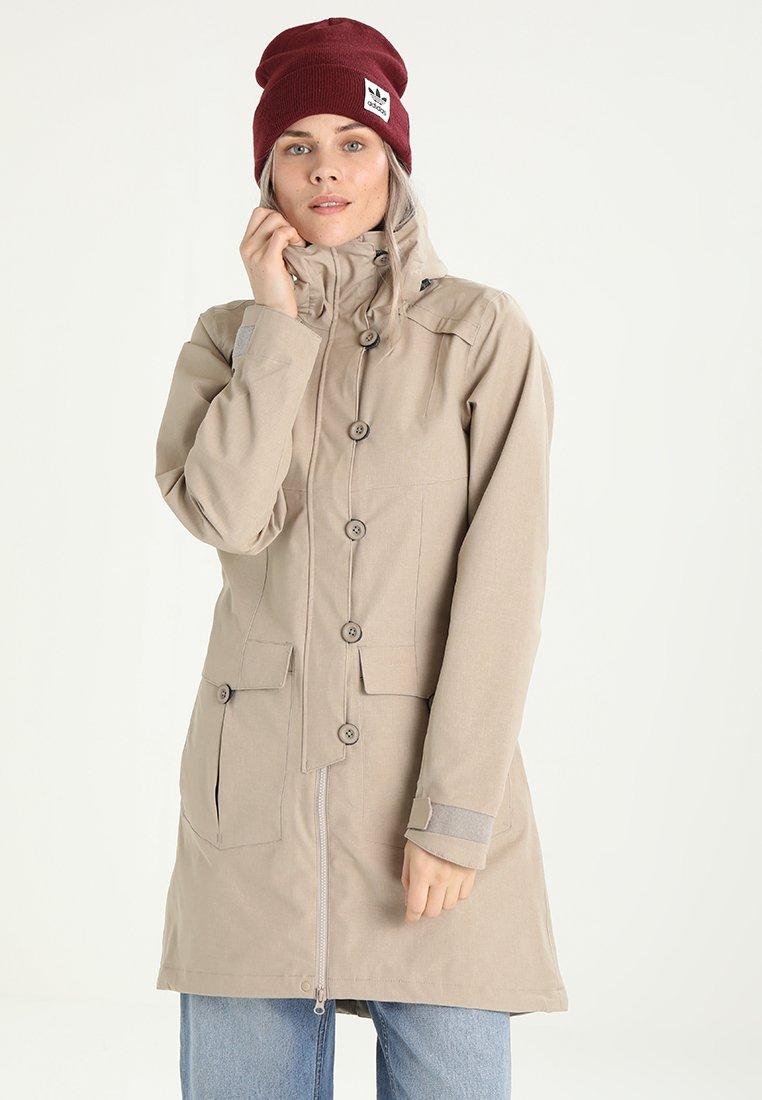 Bergans - BJERKE  - Hardshell-jakke - greyish beige