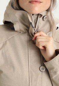 Bergans - BJERKE  - Hardshell-jakke - greyish beige - 3