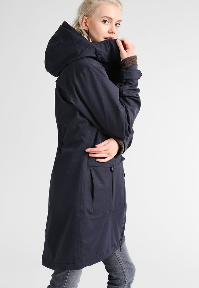 BJERKE 2-IN-1 LADY COAT - Parka - dark navy