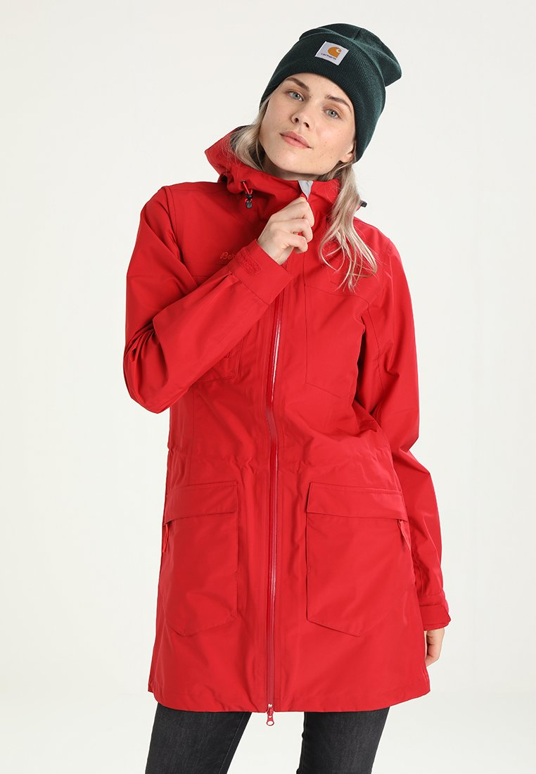 Bergans - HELLA LADY COAT - Parka - red/strawberry