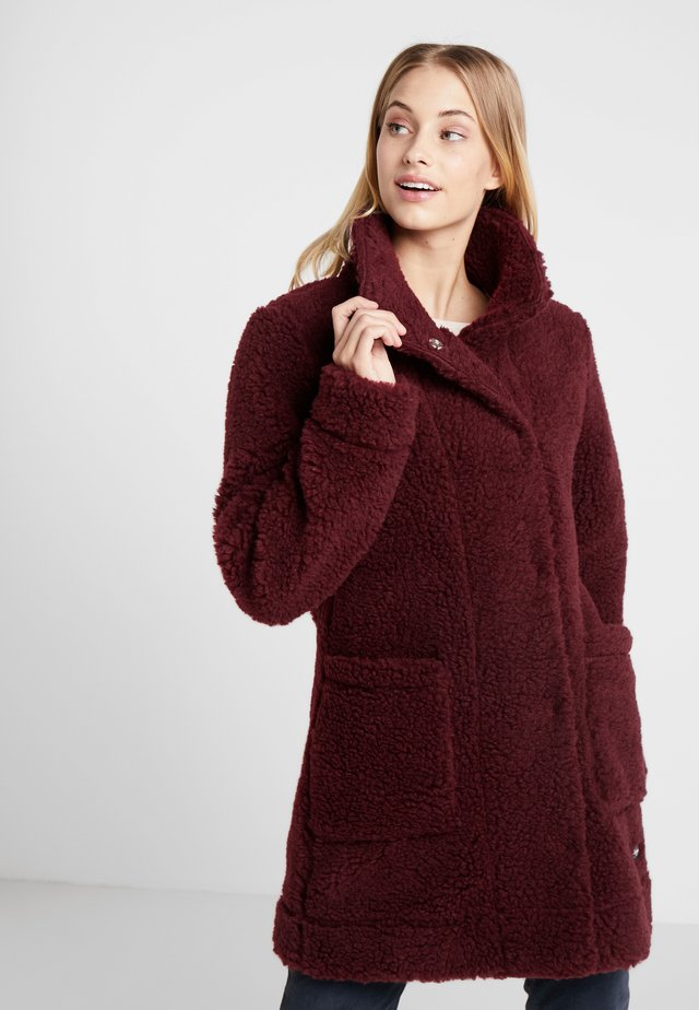 OSLO LOOSE FIT - Classic coat - zinfandel red melange