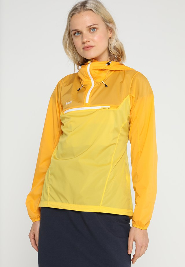 CECILIE MICROLIGHT ANORAK - Outdoorová bunda - sunflower/sun/white
