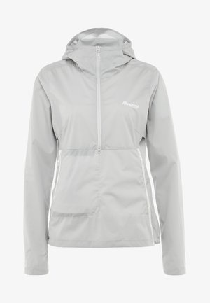 FLØYEN ANORAK - Outdoorová bunda - alu/white