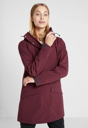 OSLO COAT - Parka - zinfandel red