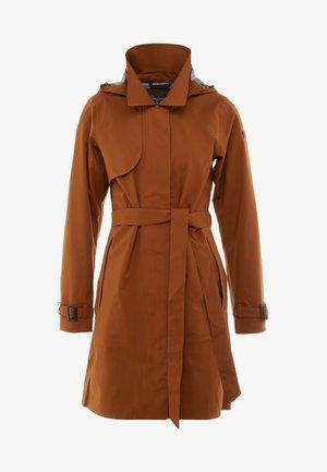 OSLO COAT - Hardshellová bunda - copper