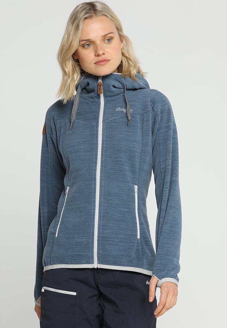 Bergans - HAREID  - Fleece jacket - fogblue melange