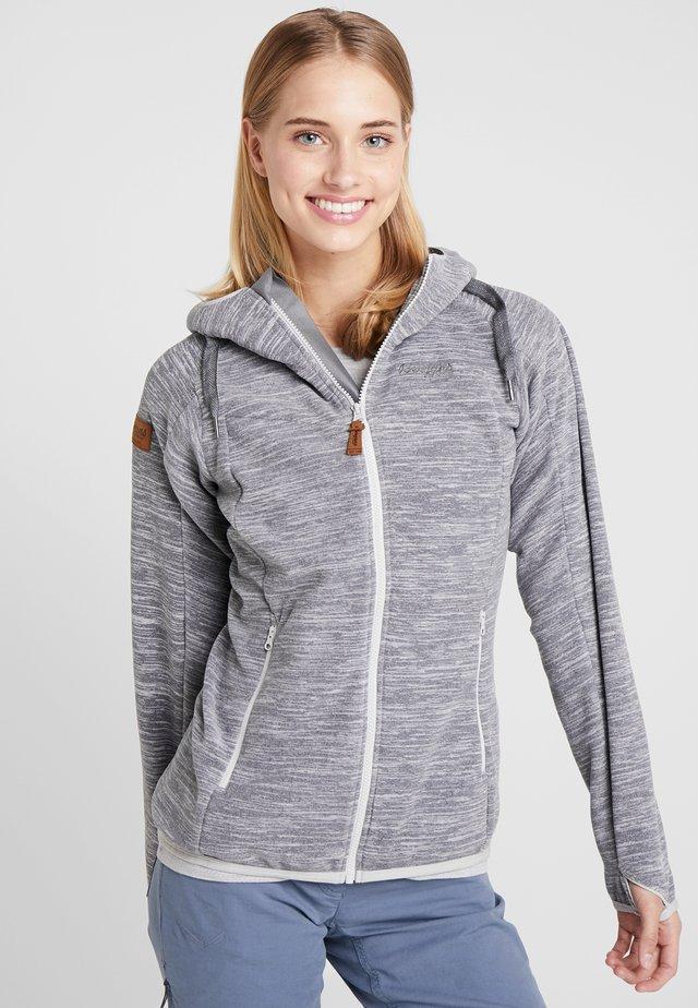 HAREID  - Fleece jacket - aluminium melange