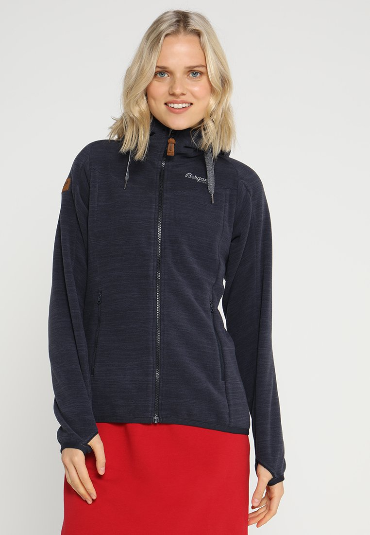 Bergans - HAREID  - Fleece jacket - dark navy melange