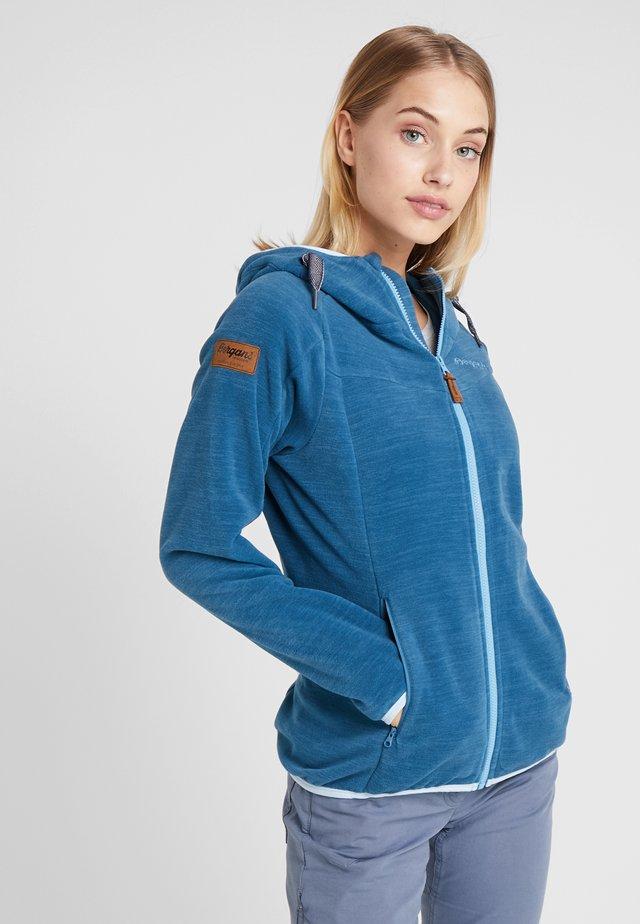 HAREID  - Fleece jacket - stoneblue