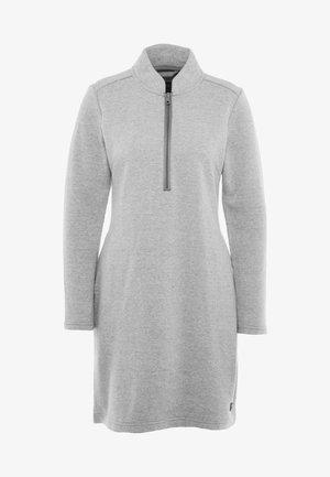 OSLO DRESS - Korte jurk - grey melange