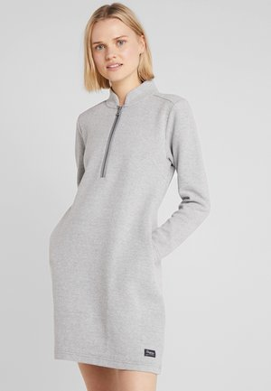 OSLO DRESS - Korte jurk - grey melange