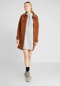 Bergans - OSLO DRESS - Denní šaty - grey melange - 1